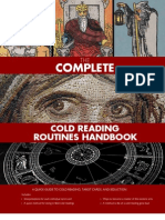 SLA Cold Reading Handbook