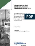 Cavan-tyrone and Meath-cavan 400kv Transmission Circuits