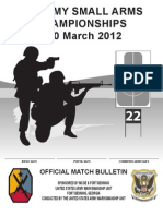 All Army Registration 2012