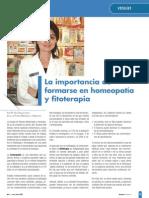 la importancia de formarse en homeopatía