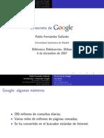 El Secreto de Google