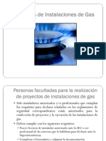 Proyectos de Instalaciones de Gas