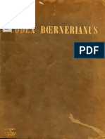 Reichardt. Der Codex Boernerianus; der Briefe des Apostels Paulus (MSC. Dresd. A 145b) in Lichtdruck nachgebildet. 1909.