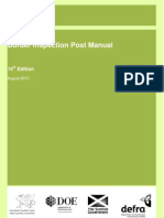 Border Inspection Post Manual
