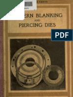 Modern Blanking and Piercing Dies