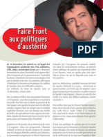 Faire Front aux politiques d'austérité