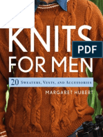 Knits for Men 20 Sweaters Vests and Accessories