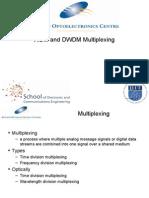 Wdm and Dwdm Multiplexing