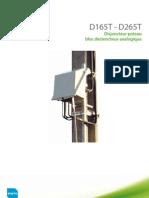 Bloc déclencheur  NOVEXIA-1020407B_D165T-D265T_AN