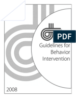 Guidelines for Behavior Intervention_RESA_2008