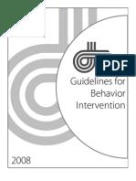 Guidelines for Behavior Intervention_RESA_2008