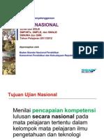 Presentasi SosialiasiUN Pleno 13 Des 2012 OK