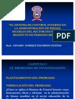 Diapositivas - Sistema de Control Interno Tesis Kike