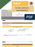 Programa de Historia Universal