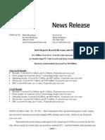 Intel Income Statement