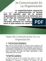 Tipos de Comunicación en La Organización