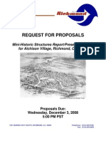 Atchison Village, City of Richmond CA rfp Final-Mini-Historic Structures Report/Preservation Plan