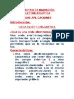 Espectro Electromagnetico y Sus Aplicaciones