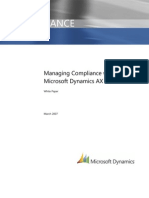 Microsoft Dynamics Ax Compliance Whitepaper March 07