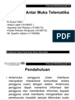Pengantar Telematika - Fitur Pada Antar Muka Telematika (Softskill)