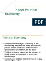 Gender and Political Economy