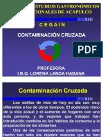 CONTAMINACIÓN CRUZADA