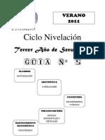 TERCERO SECUNDARIA GUIA N° 5