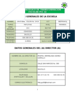 PETE PEC XI -Dimension Organizativa