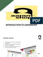 aaramshopintroductionpresentation-110829032600-phpapp01