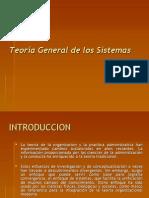 Teoría General de Los Sistemas
