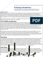 PCB Design Guidelines