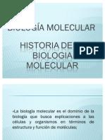 Presentación Biología Molecular Historia