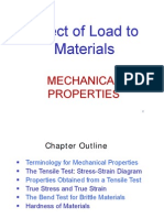 Effect Load to Materials