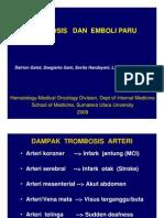 His127 Slide Trombosis Dan Emboli Paru