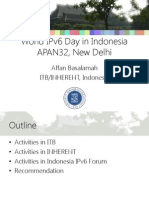 World IPv6 Day in Indonesia