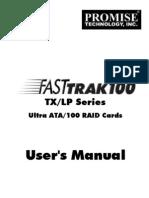 Ft100 TX-lp Series Manual Uk
