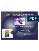 Cell Phone Detector