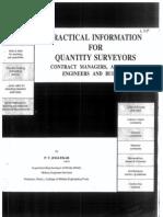 Quantity Surveying by P.T.joglekar