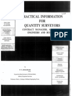 Quantity Surveying by P.T.joglekar