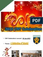 CNY Celebration DETAILS