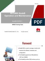 WCDMA NodeBV211 Operation and Manitenance-20100208-B-V1.0