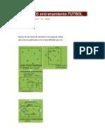 EJERCICIOS entrenamiento FUTBOL