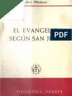 El evangelio según San Juan