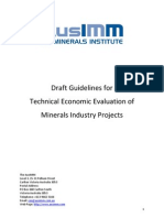 Guidelines Tech Economic Evaluation