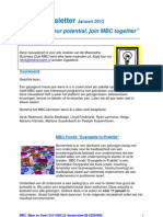 MBC Newsletter 01-01-2012
