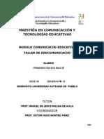 Taller de Educomunicación para la MCyTE