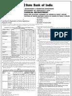 1324991067870 Sbi Clerk Recruitment Detailed Advt