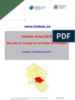 Informe Mercado Trabajo Ciudad de Córdoba 2010