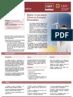 IMF 1094 Master Universitario en Energias Renovables