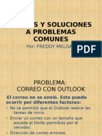 Causas y Soluciones a Problemas Comunes